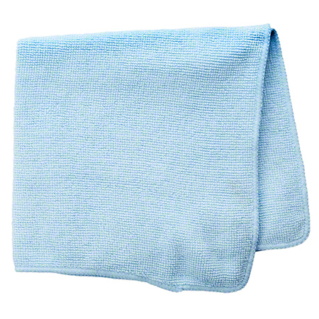 Rubbermaid® Light Commercial Microfiber Cloth-16x16, Blue