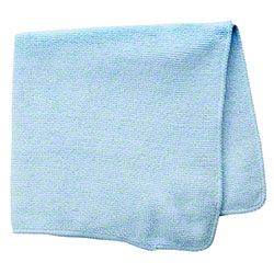 Rubbermaid® Light Commercial Microfiber Cloth-16x16, Blue