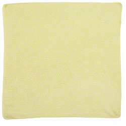 Rubbermaid® Light Commercial Microfiber Cloth-16x16,Yellow