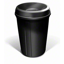 Rubbermaid® Atrium™ Classic Container - 35 Gal., Black