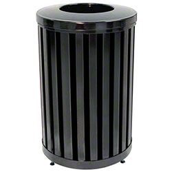 Rubbermaid® Avenue Outdoor Waste Container-32 Gal., Round