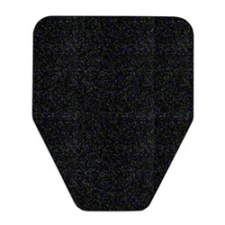 WizKid Original Cut Antimicrobial Mat - Black