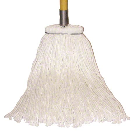 Golden Star® Sno-White Rayon Wet Mop - Standard 16 oz.