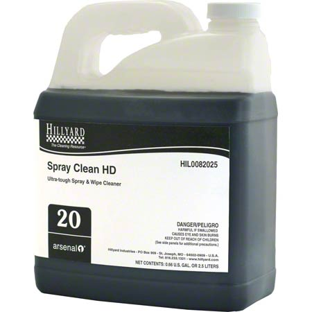 Hillyard Arsenal® 1 #20 Spray Clean HD - 2.5 L