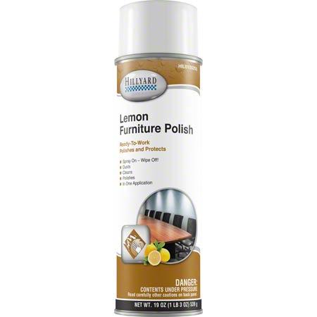 Hillyard Lemon Furniture Polish - 19 oz. Net Wt.