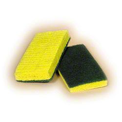 Green Backed Scrubber Sponge