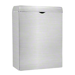 Alpine Sanitary Napkin Receptacle - Stainless Steel