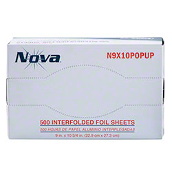 "NOVA® Foil Pop Up Sheets - 9"" x 10 3/4"""