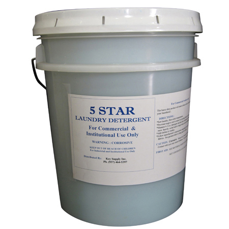 5 Star Concentrated Laundry Detergent - 5 Gal.