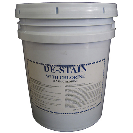 Laundry De-Stainer w/Chlorine - 5 Gal.