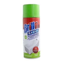 Brillo Foaming Bathroom Cleaner Aerosol - 12 oz.