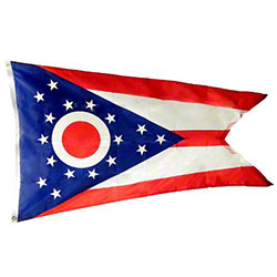 Ohio State Flag Nylon