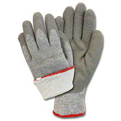 Safety Zone Latex Coated String Knit w/Terry Lining Gloves