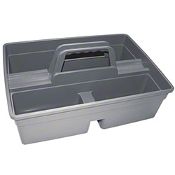 Update Gray Plastic Janitorial Caddy