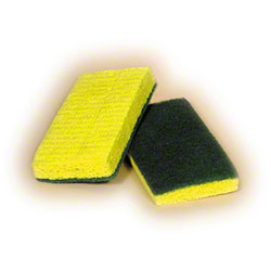 Green Backed Scrubber Sponge
