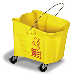 Continental 35 Qt. Splash Guard Mop Bucket