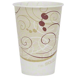 Solo® Symphony® Compostable Paper Cold Cup - 7 oz.