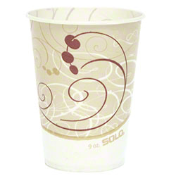 Solo® Symphony® Compostable Paper Cold Cup - 9 oz.