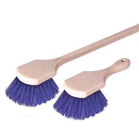 "Polypropylene Tough Scrub Pot Brush - 8-1/2"""