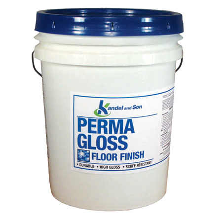 Perma Gloss High Gloss Floor Finish - 5 Gal. Pail