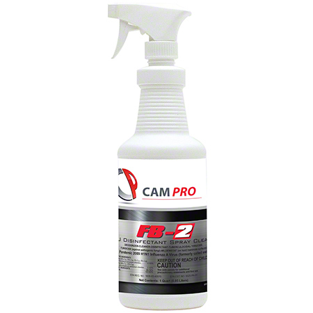 Cam Pro FB-2 Disinfectant Spray Cleaner - 32 oz.
