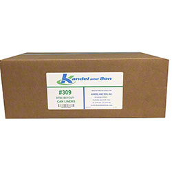 309 Extra Heavy Duty Can Liner - 33 Gal.