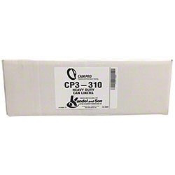 CP3-310 3 ply Extra Heavy Duty Can Liners - 44 Gal.