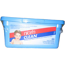 Nice 'n Clean Premium Baby Wipes - 80 ct.