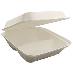 BIO BOARD Lidded 3 Compartment Container