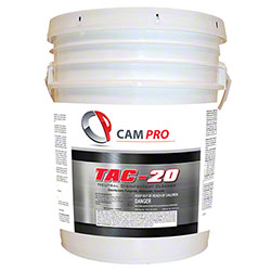 Cam Pro TAC-20 Neutral Disinfectant Cleaner - 5 Gal. Pail