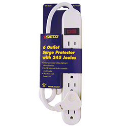 Satco® 6 Outlet Surge Protector