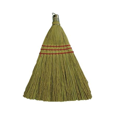Broom|whisk Wood Handl W/metal Ring