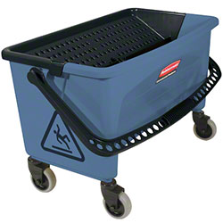 Rubbermaid® Blue Finish Bucket