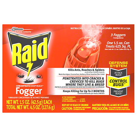 Raid® Concentrated Deep Reach Fogger - 1.5 oz.