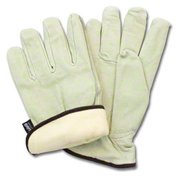 Safety Zone Pig Grain Leather Driver Gloves