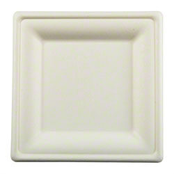PrimeWare® Diamond Collection Square Plate - 8""