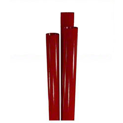 "Choice™ Giant X-Heavy Poly Wrapped Straw - 7.75"", Red"