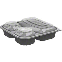 Anchor Culinary Squares™ 3-Cmpt Base w/Lid Combo Pack