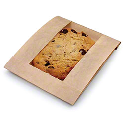 Bagcraft™ EcoCraft® Window Bag - 5 x 1 1/2 x 7