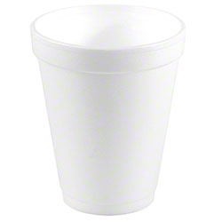 Convermex® White Foam Cup - 10 oz.