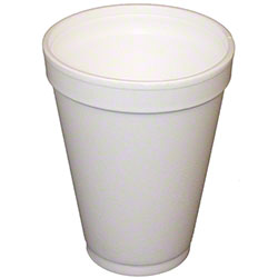 Convermex® White Foam Cup - 12 oz., Tall
