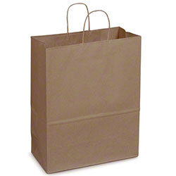 Duro Dubl Life® Carryout Shopping Bag - Mart, 65 lb. BW