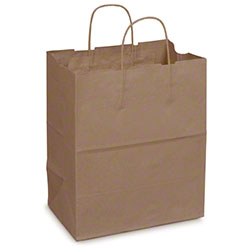 Duro Dubl Life® Carryout Shopping Bag - Bistro, 60 lb. BW