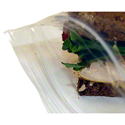 LK® Reclosable Sandwich Bag - 6 x 6, .0012 gauge