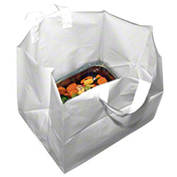 LK® Looped Handle Take Out Bag - 24 x 14 x 15 1/4 x 4