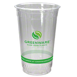 Fabri-Kal® Greenware® Cold Drink Cup - 20 oz., Print