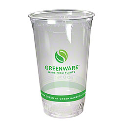 Fabri-Kal® Greenware® Cold Drink Cup - 24 oz., Stock