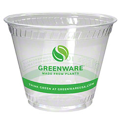 Fabri-Kal® Greenware® Cold Drink Cup -9 oz. Old Fashion, Print