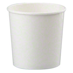 White Paper Food Container - 64 oz.