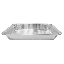 Karat® Heavy Duty Aluminum Foil Deep Steam Table Pan -Full